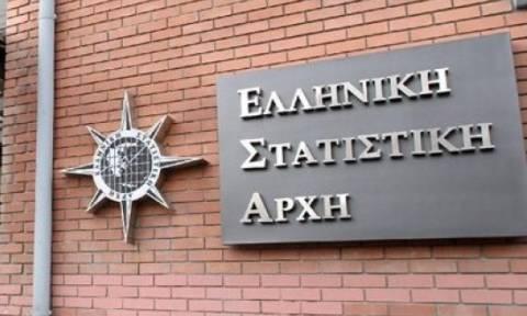 ΕΛΣΤΑΤ: Ύφεση 1,3% το α΄ τρίμηνο φέτος στην ελληνική οικονομία