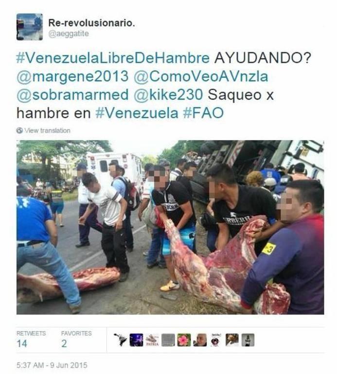 Χάος στη Βενεζουέλα: Κοτόπουλο, σαμπουάν έως και εσώρουχα λεηλατούν οι πανικοβλημένοι πολίτες (Vid)
