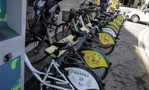 Δωρέαν μετακινήσεις με ποδήλατα στην Πάτρα από τη Δευτέρα