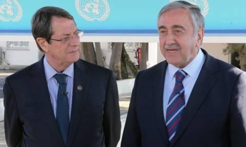 Κυπριακό: Kοινή δήλωση Αναστασιάδη - Ακιντζί για την συμπλήρωση ενός χρόνου διαπραγματεύσεων