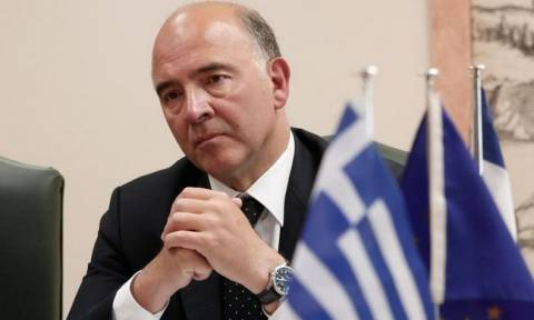 «Φρένο» Μοσκοβισί: Ελάφρυνση χρέους με δυο «κόκκινες γραμμές»