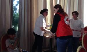 Ελληνικός Ερυθρός Σταυρός: Εμβολιάστηκαν 100 παιδιά προσφύγων για Ηπατίτιδα Α