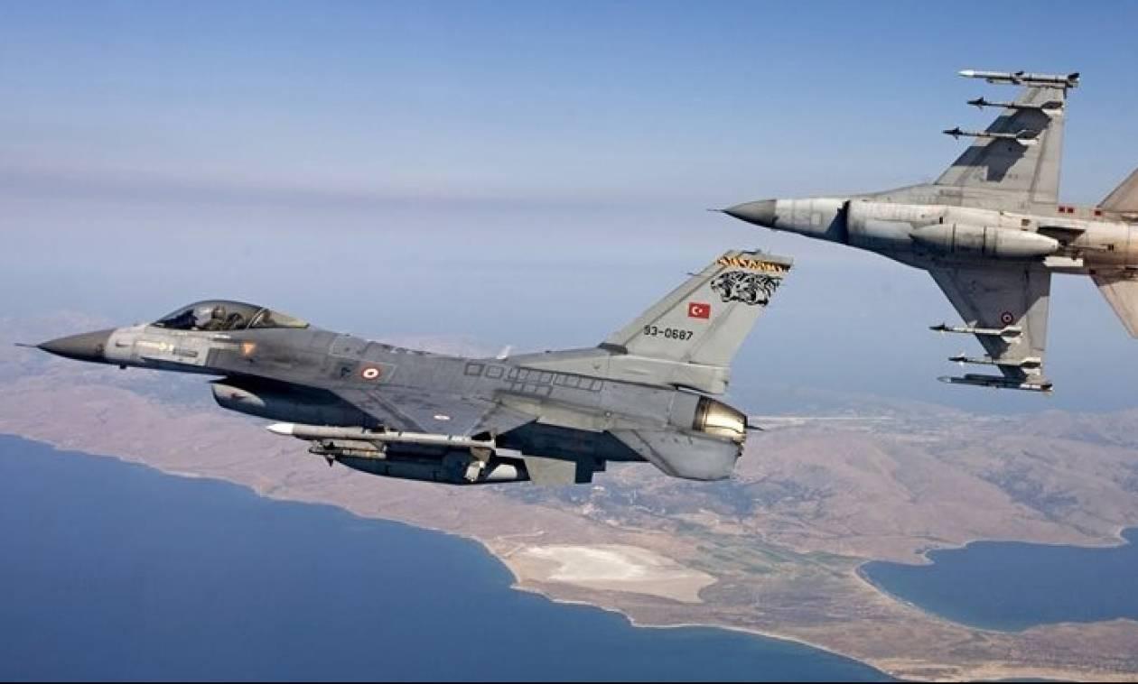 Κατάρριψη τουρκικού F16 - Οι Τούρκοι κατηγορούν Έλληνα πιλότο