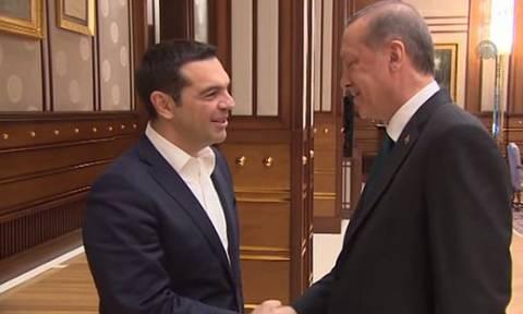 Συνάντηση Τσίπρα - Ερντογάν στην Κωνσταντινούπολη. Επίσκεψη Αναστασιάδη στην Αθήνα
