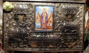 Στην Κύπρο ιερό λείψανο του Αγίου Λουκά του ιατρού