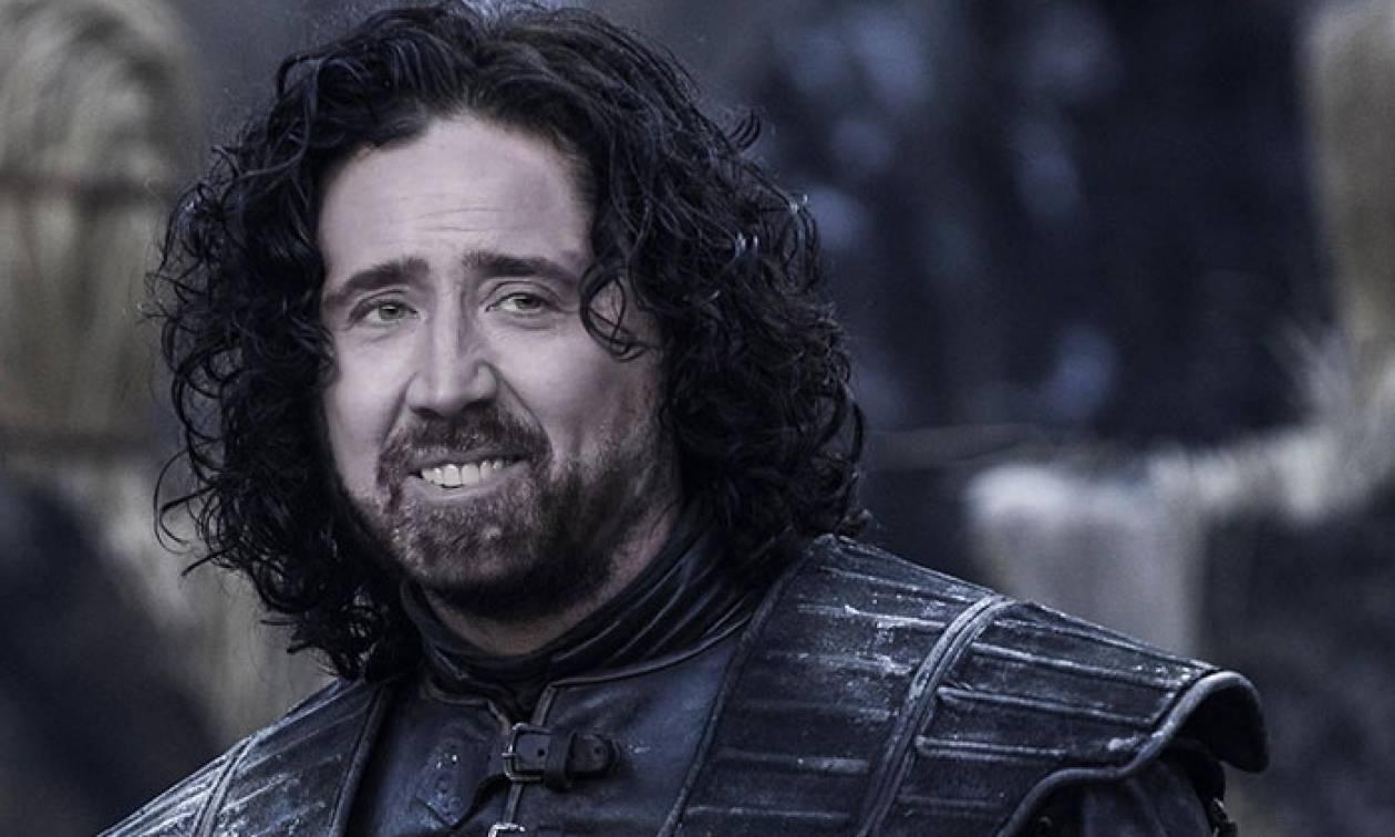 Cage of Thrones: Ο Nicolas Cage σε κάθε ρόλο του GoT (photos)