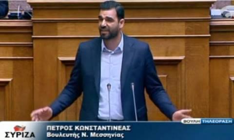 Απίστευτο θράσος - Βουλευτής του ΣΥΡΙΖΑ σε πολίτη: Εμένα δεν θα μου υψώνεις τη φωνή (video)