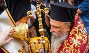 Η Λάρισα υποδέχθηκε λείψανο του Αγίου Νικολάου από την Ιταλία