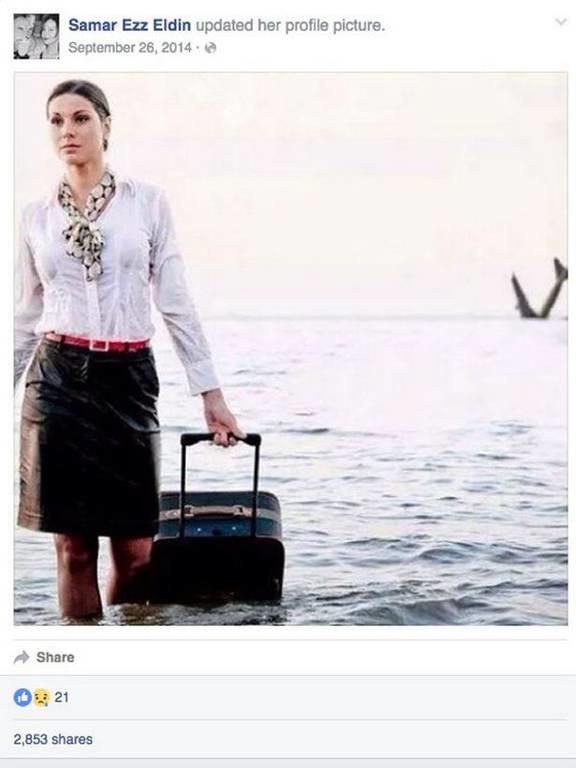 Egyptair: Η προφητική φωτογραφία μιας αεροσυνοδού του μοιραίου Airbus