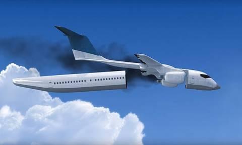 Αυτή είναι η εφεύρεση - λύση για εκείνους που τρέμουν το αεροπλάνο (photo+video)
