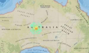 Ισχυρός σεισμός 5,9 Ρίχτερ στην κεντρική Αυστραλία (Pics)