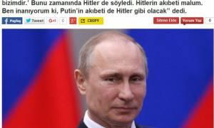 Επικεφαλής «των Τατάρων της Κριμαίας»: «Ο Πούτιν θα έχει το τέλος του Χίτλερ»…