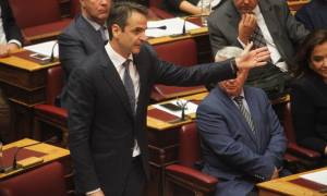 Πολυνομοσχέδιο - Μητσοτάκης προς Τσίπρα: Ο «κόφτης» είναι το τίμημα της αναξιοπιστίας σας