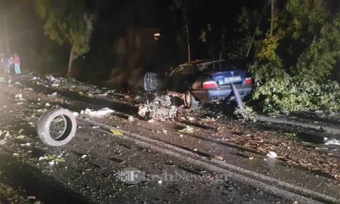 Τρομακτικό δυστύχημα στα Χανιά - Νεκρός 20χρονος