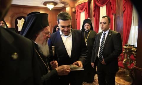 Με τον Οικουμενικό Πατριάρχη Βαρθολομαίο θα συναντηθεί στην Κωνσταντινούπολη ο Αλέξης Τσίπρας