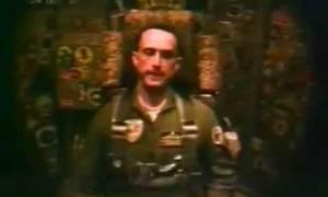 Συγκλονιστικό βίντεο: Όταν ο Κώστας Ηλιάκης εκπαιδευόταν στις ΗΠΑ