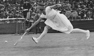 Suzanne Lenglen: Το doodle της Google για τα 117α γενέθλια της Γαλλίδας αθλήτριας