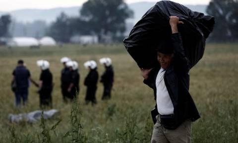 Ειδομένη: Σε εξέλιξη η επιχείρηση εκκένωσης του καταυλισμού (photos)