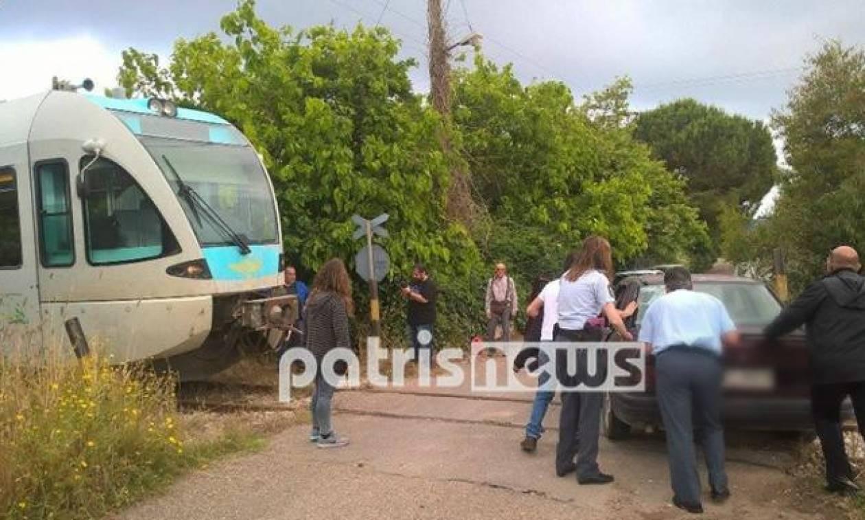 Σοκ στο Κατάκολο: Είδε το τρένο να έρχεται καταπάνω του... (photos)