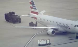 ΗΠΑ: Απειλή για βόμβα σε αεροσκάφος στο αεροδρόμιο του Λος Άντζελες (video+photos)