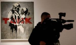 Ο Banksy έκανε «κατάληψη» στη Ρώμη