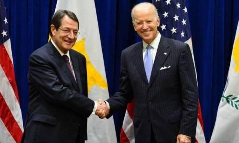 Επικοινωνία Αναστασιάδη - Μπάιντεν για το Κυπριακό