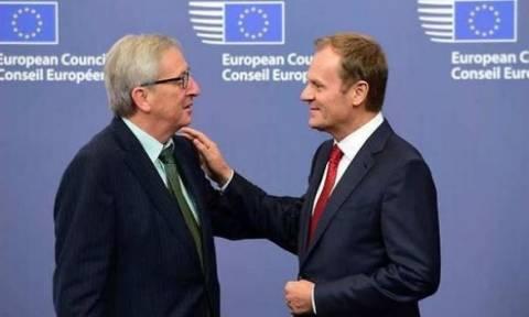 Γελάει ο... κόσμος: Γιούνκερ - Τουσκ ευχαριστούν τον ελληνικό λαό και τον... Τσίπρα!