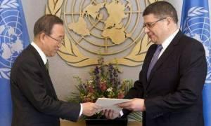 Ηνωμένα Εθνη: Μη προγραμματισμένη η συνάντηση Μπαν-Ακιντζί