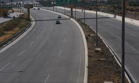 Κλειστή η εθνική οδός Θεσσαλονίκης - Σερρών