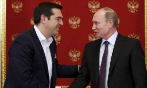 Σειρά διακηρύξεων και συμφωνιών θα υπογράψουν Πούτιν και Τσίπρας