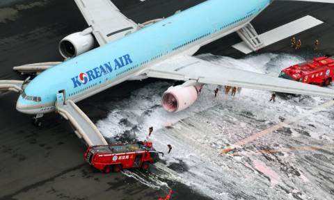 Συναγερμός στο αεροδρόμιο του Τόκιο: Καρέ – καρέ οι σκηνές τρόμου (pics-vid)