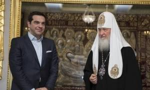 Έφτασε ο Πατριάρχης Κύριλλος στο αεροδρόμιο Μακεδονία