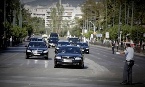 Επίσκεψη Πούτιν: Προσοχή! Κυκλοφοριακές ρυθμίσεις στην Αττική