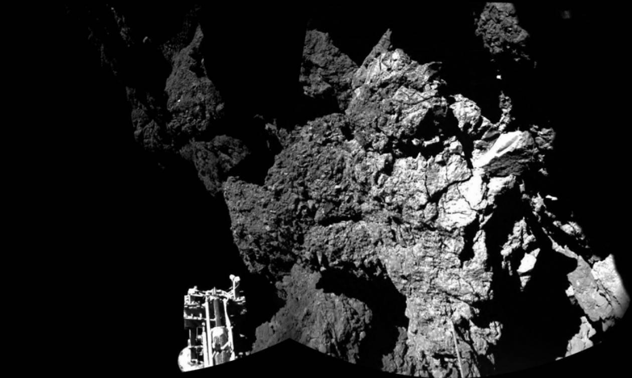 Στοιχεία «ζωής» ανιχνεύτηκαν πάνω στον κομήτη Ροζέτα