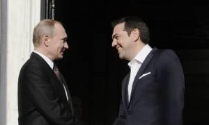 Ципрас и Путин приняли участие в открытии выставки в Музее византийского искусства в Афинах