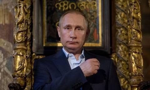 Σε κλίμα κατάνυξης η επίσκεψη του Βλαντιμίρ Πούτιν στο Άγιον Όρος