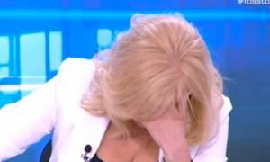 Αγραφιώτου: Κατέρρευσε η Αγγελική Νικολούλη στον αέρα του «Φως στο τούνελ»! (video)