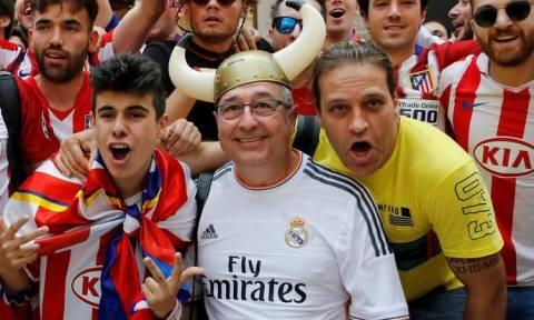 Μιλάνο:Πριν την έναρξη του μεγάλου τελικού του Champions League Ρεάλ Μ.-Ατλέτικο Μ.