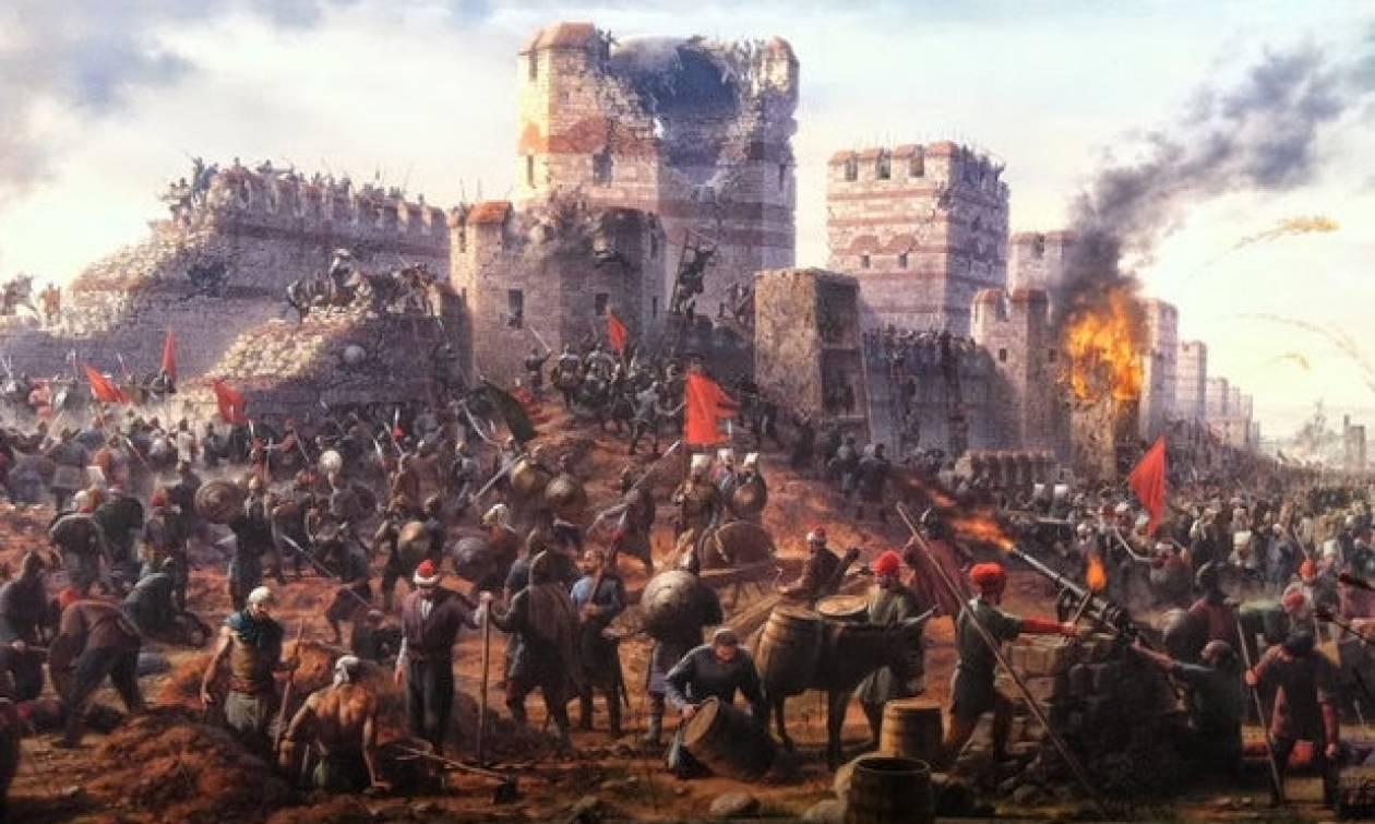 Σαν σήμερα το 1453 έγινε η άλωση της Κωνσταντινούπολης από τους Οθωμανούς