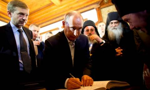 Το μεγάλο μυστικό του Βλαντιμίρ Πούτιν και η προσευχή του στο Άγιο Όρος