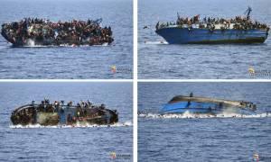 Εβδομήντα νεκροί πρόσφυγες και πάνω από δεκατέσσερις χιλιάδες διασώσεις σε μία μόλις εβδομάδα (Vid)