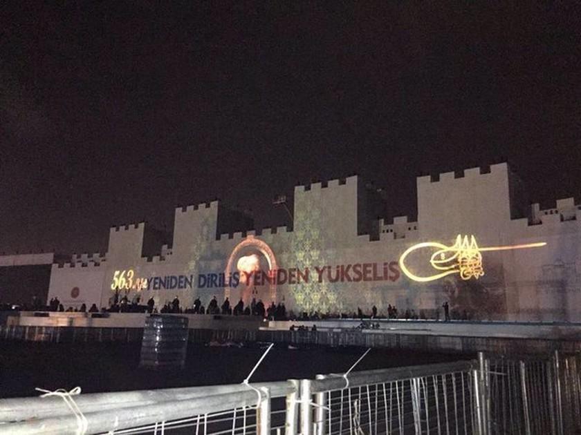Κωνσταντινούπολη: Προκλητική υπερπαραγωγή ετοιμάζει ο Ερντογάν στην επέτειο της Άλωσης της Πόλης