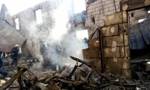 Τραγωδία στο Κίεβο: 17 νεκροί από φωτιά σε οίκο ευγηρίας (pics)