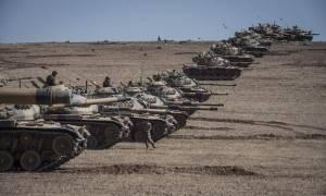 Η Τουρκία βομβαρδίζει το ISIS στη Συρία καθώς επελαύνει προς τα σύνορα (Vid)