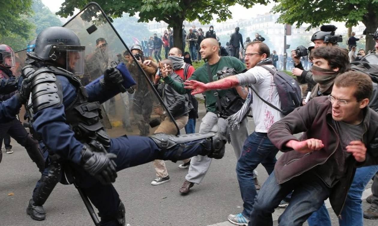 Γαλλία-Απεργίες: «Παραλύουν» και οι συγκοινωνίες έντεκα μόλις ημέρες πριν από το Euro 2016 (Vids)