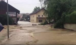 Φονικές πλημμύρες σε Γερμανία, Αυστρία - Σε κατάσταση συναγερμού το Παρίσι (videos)