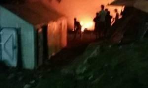 На Лесбосе в центре для беженцев произошел пожар