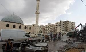 Νέα φονική έκρηξη σε τζαμί στη Συρία (video)