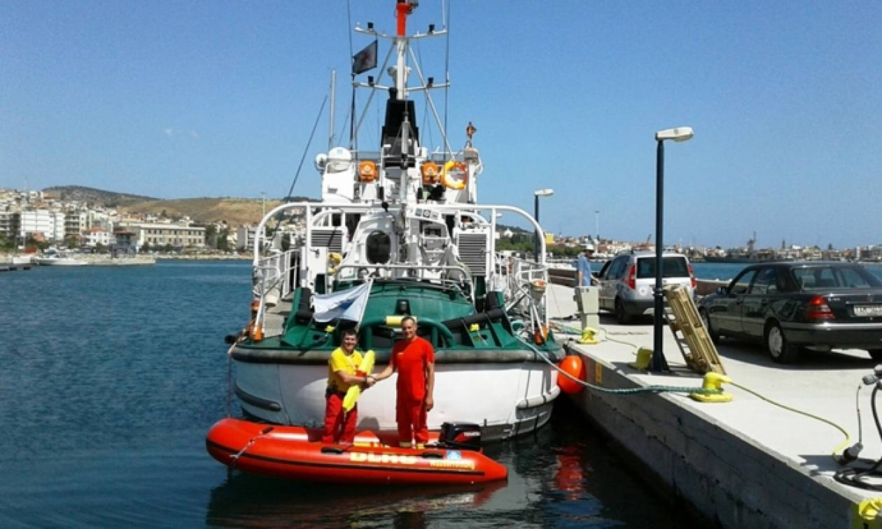 Δωρεά ναυαγοσωστικού σκάφους στον Ελληνικό Ερυθρό Σταυρό