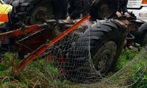 Τραγωδία στο Βόλο: Νεκρός αγρότης από ανατροπή τρακτέρ